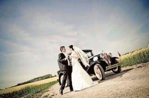 Det nye bryllupsfoto