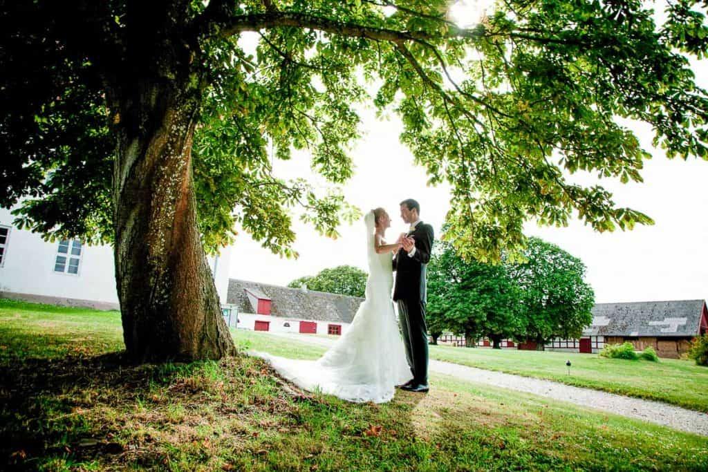 Kreativ fotograf til bryllup i Odense