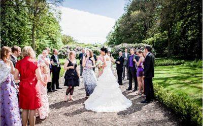 Bryllupsfotograf i Jylland ved bryllup