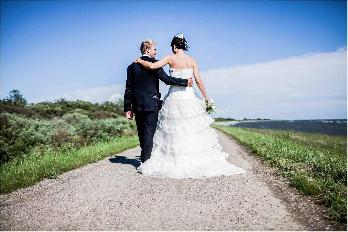 bryllupsbilleder i Naturen