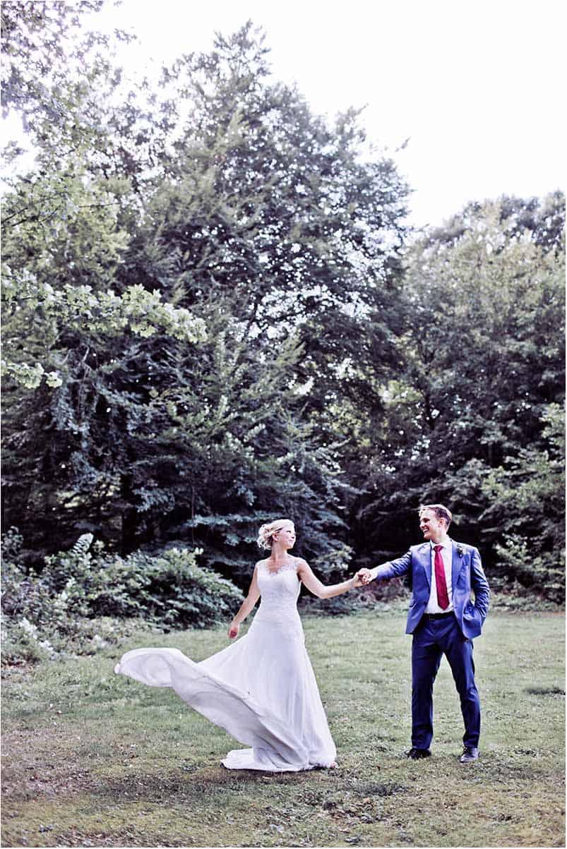 en bryllupsfotograf, der går op i det med liv og sjæl