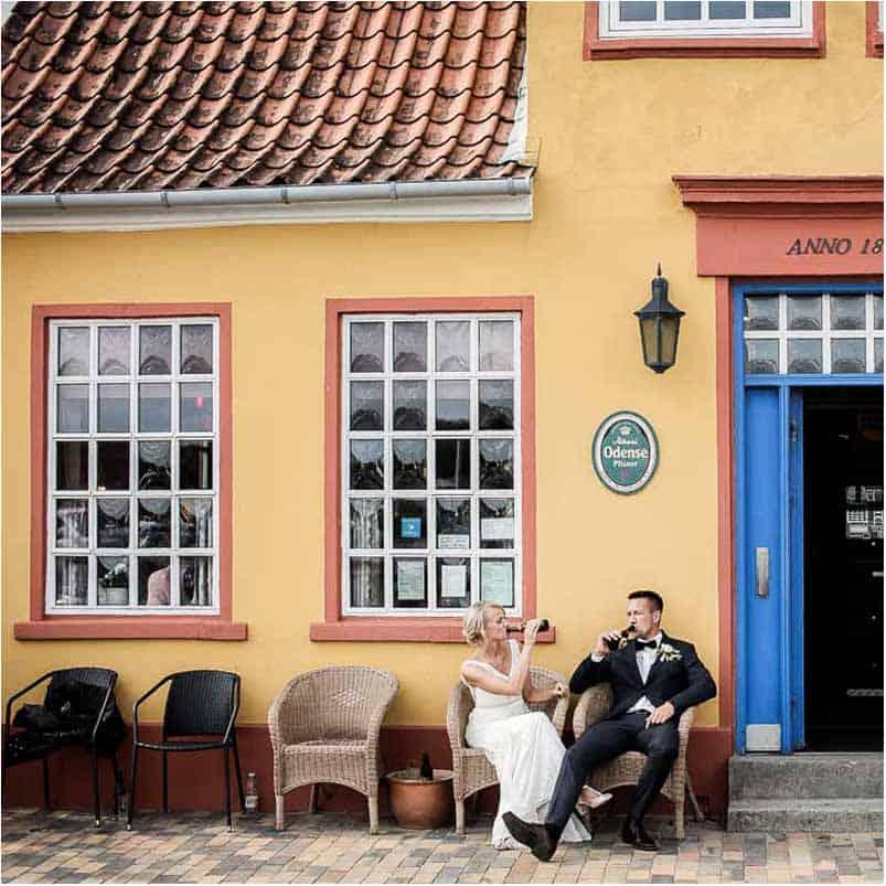 Bryllup Soenderborg - Brand og Terp foto