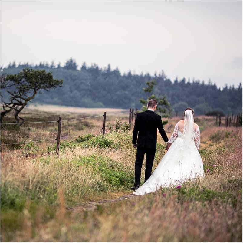 Bryllup og været