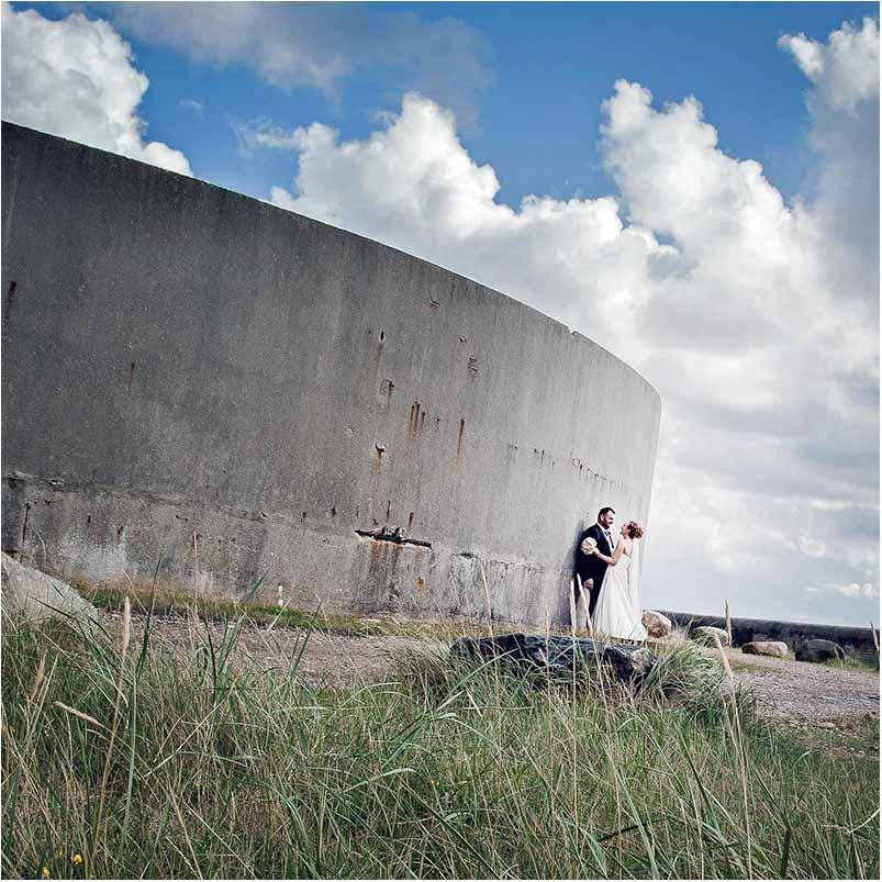 Esbjerg bryllupsfotografering - Brand og Terp