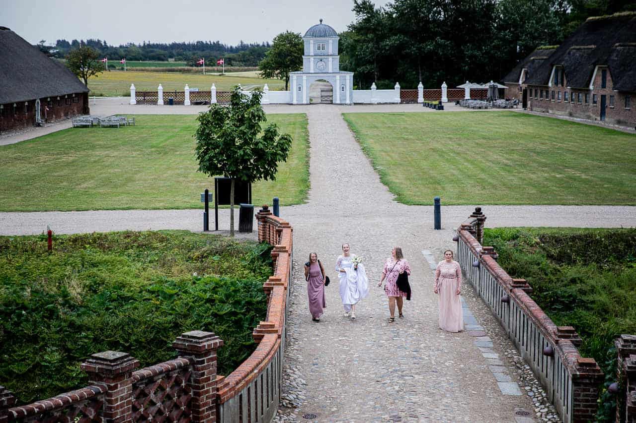 Hold jeres bryllupsfest i Nørre Vosborgs smukke lokaler