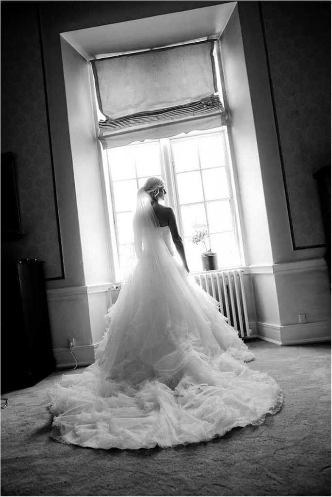 Mange brudepar vælger at holde deres bryllup på Bandholm Hotel