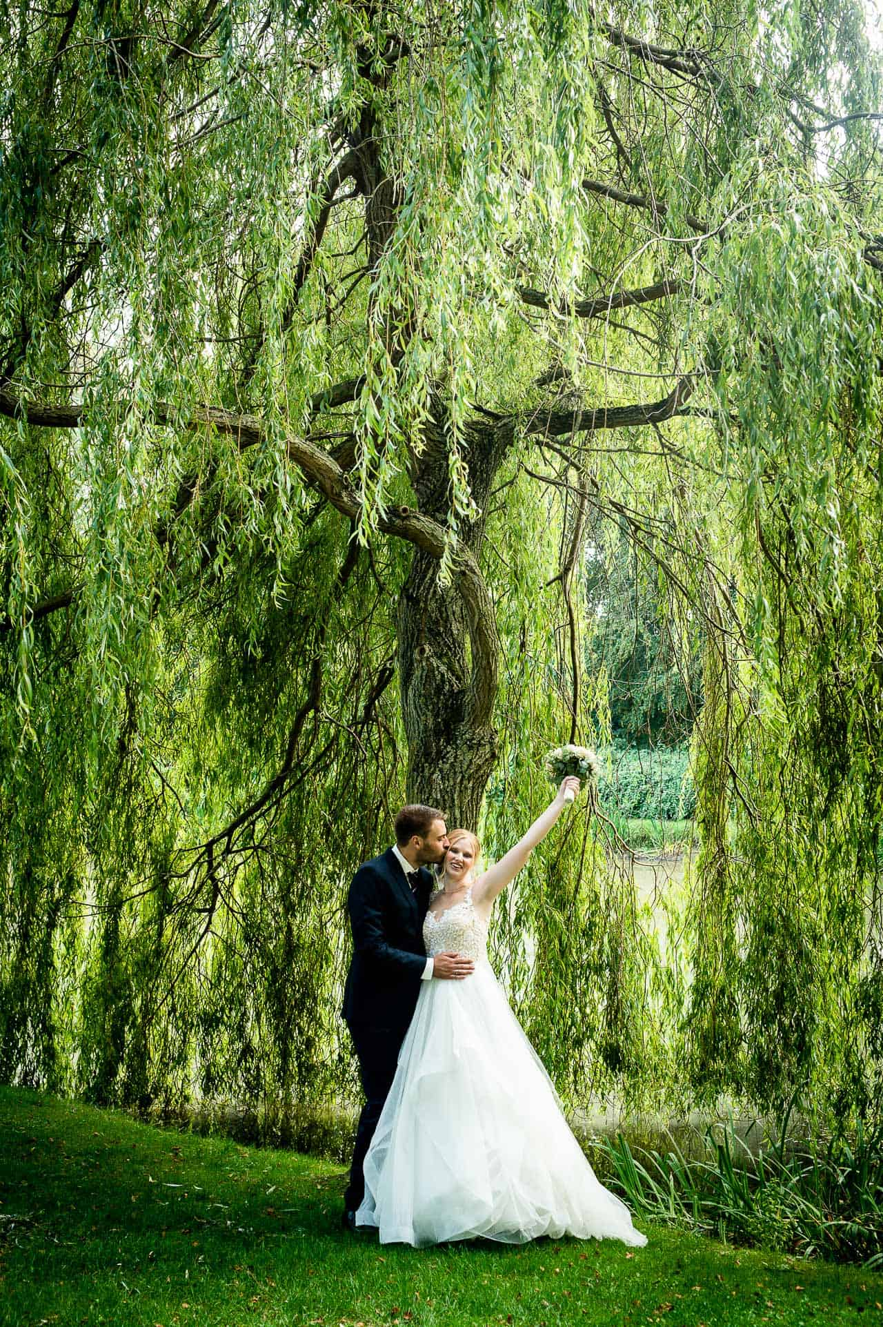 Vellykket bryllupsfotograf
