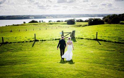 Fine billeder af det nye brudepar