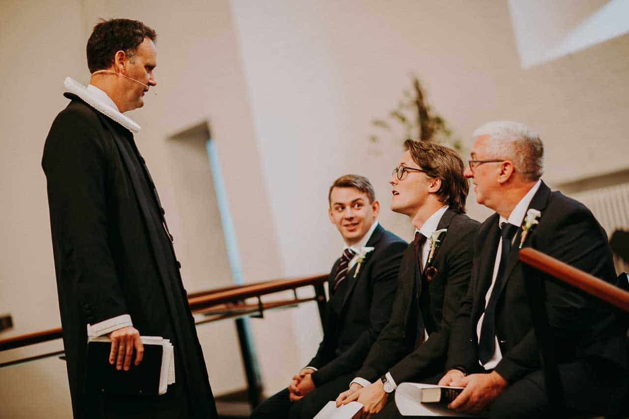 Sct. Johannes Kirke bryllupsfotografi
