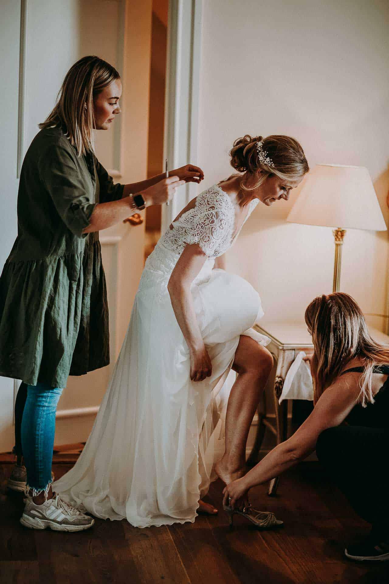 Kokkedal slot - Bryllupsforberedelser