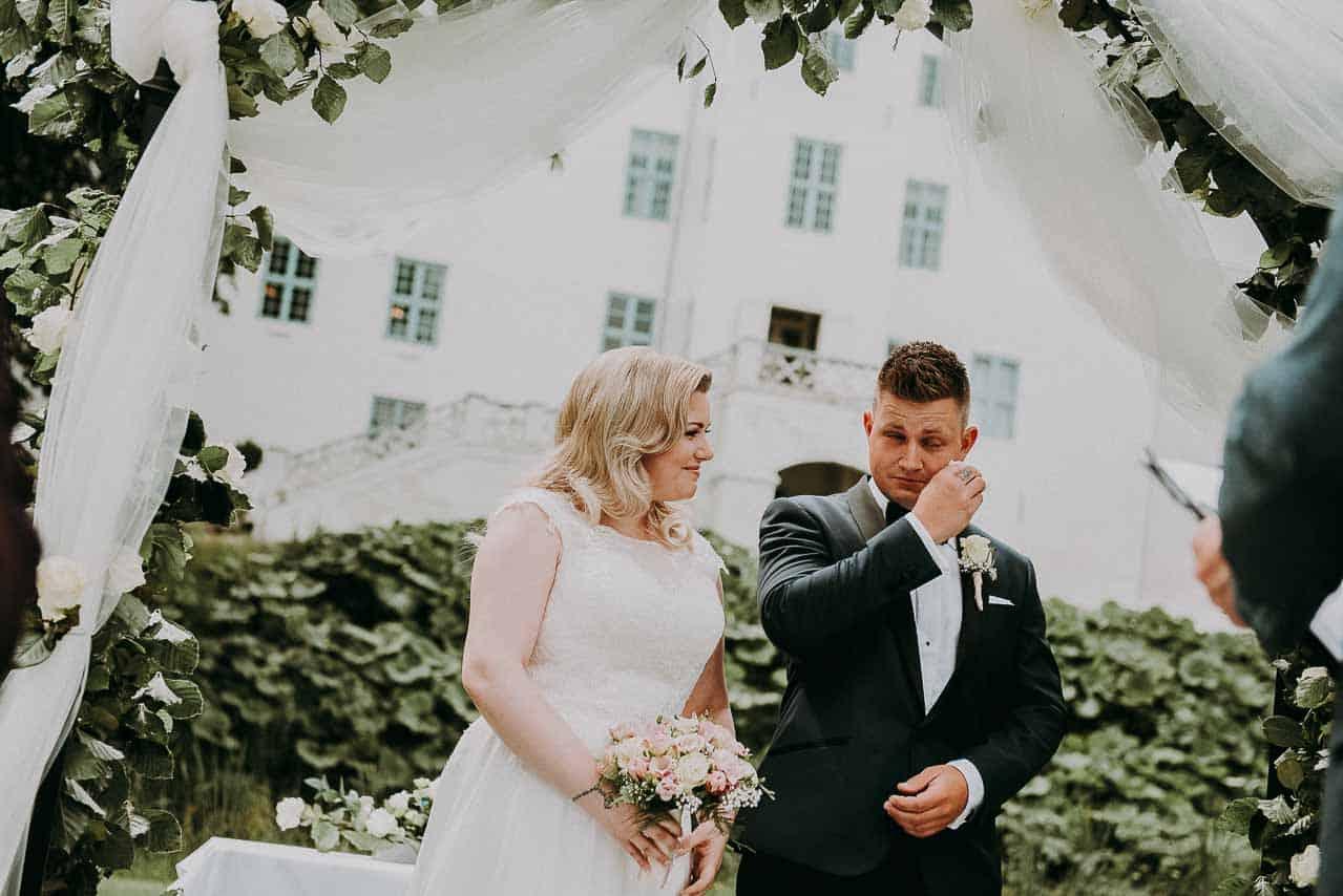 Bryllup og fest i Nordsjælland.