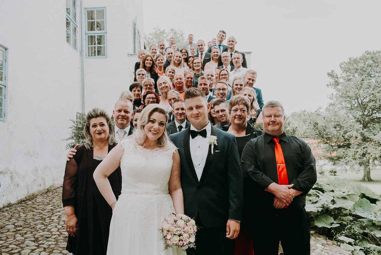 """Bryllup Dragsholm Slot - Som """"hus fotograf"""" ved Dragsholm slot skyder vi mange bryllupper"""