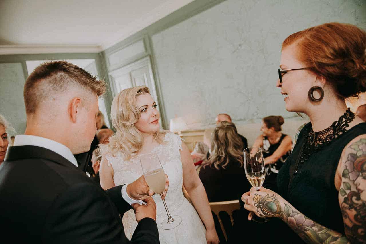 Romantisk bryllup på Dragsholm slot | Bryllupsplanlægning ...