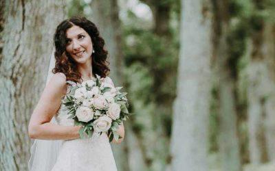 Et fotografi fra bryllupsdagen